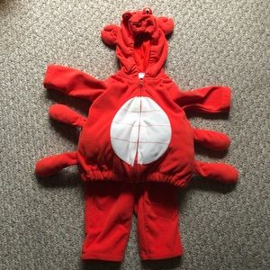 Carters Baby Crab Costume